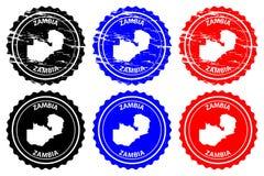 Избитая фраза Замбии Стоковое Изображение