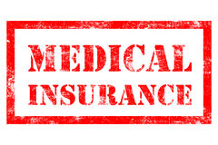 Избитая фраза медицинского страхования Стоковые Фото