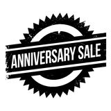 Избитая фраза продажи годовщины Стоковое фото RF