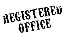 Избитая фраза регистрирующего офиса стоковое изображение