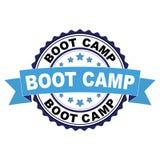 Избитая фраза с концепцией лагеря ботинка Стоковая Фотография RF