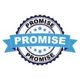 Избитая фраза с концепцией обещания Стоковые Фото