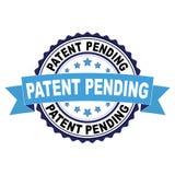 Избитая фраза с концепцией патента заявлен Стоковые Фотографии RF
