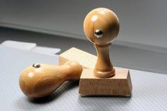 избитые фразы деревянные Стоковое Фото