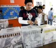 избрания Мексика Стоковые Изображения RF