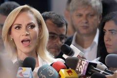 Избрания Румыния Gabriela Firea Стоковая Фотография RF