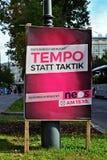 Избрания Parlamentary в Австрии Стоковые Фото