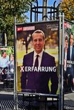 Избрания Parlamentary в Австрии Стоковое Изображение RF