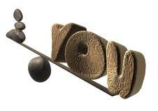 избыточный вес вы Стоковая Фотография RF