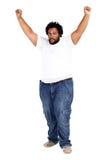 избыточный вес человека Стоковое Фото