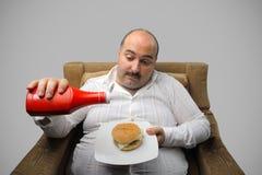 избыточный вес Стоковое фото RF