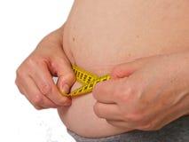 избыточный вес Стоковые Фото
