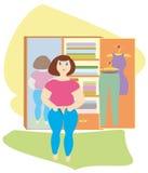 избыточный вес Стоковые Изображения