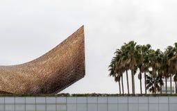 Изваяйте рыб, откровенным Gehry Стоковое Изображение
