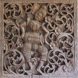 Изваянная древесина Стоковая Фотография