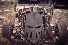 Изверг автомобиля стоковая фотография rf