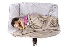 изверг кровати вниз Стоковое Изображение RF