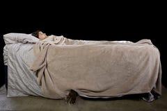 изверг кровати вниз Стоковые Фото