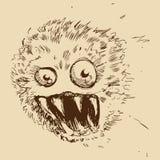 изверг пыли шарика Стоковая Фотография