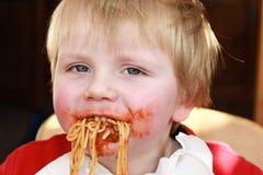 Изверг спагетти Стоковые Фото