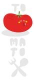Изверг томата. Стоковое Изображение