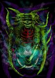 Изверг дьявола Стоковая Фотография RF
