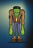 Изверг Frankenstein иллюстрация вектора