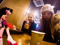 Изверг McDonald Стоковые Изображения RF