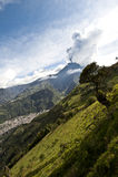 Извержение вулкана стоковая фотография