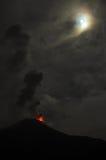 Извержение вулкана Tungurahua Стоковое фото RF