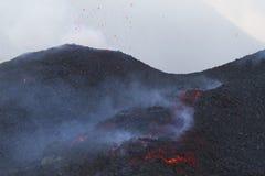 извержение Стоковые Изображения RF