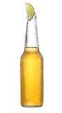 известка бутылки пива Стоковое Фото