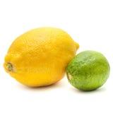 Известка & лимон Стоковые Фотографии RF