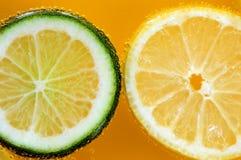 Известка и лимон Стоковые Изображения RF