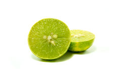 Известка куска свежая зеленая Стоковые Фото