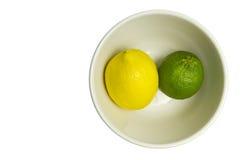 известка лимона шара Стоковые Изображения