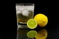 известка лимона bitters Стоковая Фотография