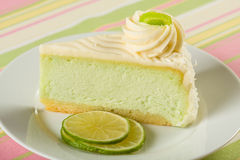 известка cheesecake ключевая Стоковые Фотографии RF