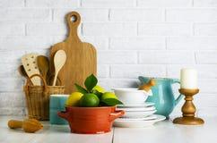 Известки и лимоны в шаре Стоковые Фотографии RF