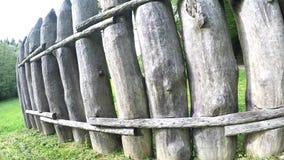 Известки, римская стена в Германии акции видеоматериалы
