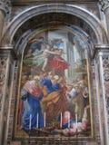 Известная базилика в Ватикане в Риме стоковое фото rf