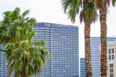 Известная гостиница в Лас-Вегас - космополитическом - ЛАС-ВЕГАС - НЕВАДА - 23-ье апреля 2017 стоковое изображение rf