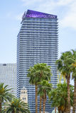 Известная гостиница в Лас-Вегас - космополитическом - ЛАС-ВЕГАС - НЕВАДА - 23-ье апреля 2017 стоковые фотографии rf