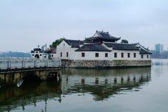 Известная китайская архитектура стоковое фото