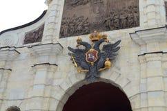 Известная крепость Питера и Пола Стоковое Изображение