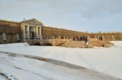Известная крепость Питера и Пола Стоковое Фото