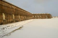 Известная крепость Питера и Пола Стоковая Фотография