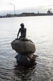 Известная маленькая русалка Стоковое Фото