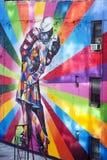 Известная настенная роспись Нью-Йорк Стоковые Изображения RF