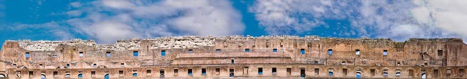 Известная панорама руин Стоковое Изображение